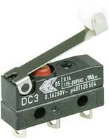 Szubminiatűr kapcsoló, 250 V/AC 1 váltó Forrasztható csatlakozás IP67 Cherry Switches DC3C-A1RC (DC3C-A1RC) Cherry Switches