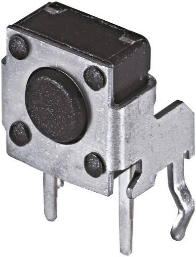 Nyomógomb 12 V/DC 50 mA hajlított, magasság 7,35 mm Namae Electronics
