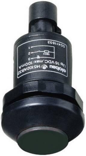 Nyomógombos kapcsoló fekete 48 V DC/AC 0.5 A Elobau 145 145000AB