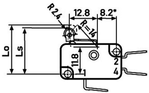 Mikrokapcsoló XGG2-88S20Z1