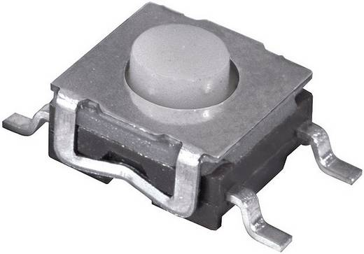 Nyomógomb 12 V/DC 50 mA SMD ütemkapcsoló, kiálló működtetővel, Namae Electronics