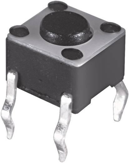 Nyomógomb 12 V/DC 50 mA , magasság nyomócsappal: 17,0 mm, Namae Electronics