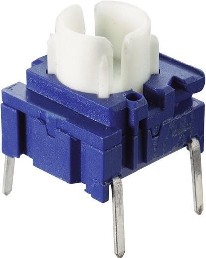 MEC Miniatűr panel nyomógomb, Multimec 3F sorozat 3FTL6 M Nyomógomb alaptest 1 x ki/(be) 25 V/DC 50 mA