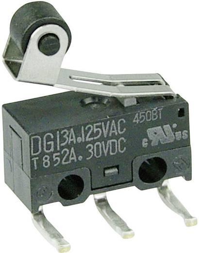 Mikrokapcsoló 125 V/AC 3 A 1 x BE/(BE) Cherry Switches DG13-B2RA nyomó 1 db
