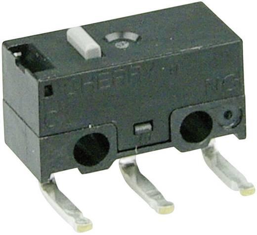 Mikrokapcsoló 125 V/AC 3 A 1 x BE/(BE) Cherry Switches DG13-B3AA nyomó 1 db