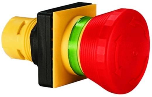 Vészkikapcsoló, piros, sárga, forgó reteszelés, RAFI 1.30.094.001/0300 2 db