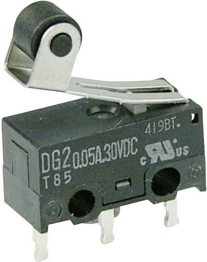 Mikrokapcsoló 30 V/DC 0,05 A 1 x BE/(BE) Cherry Switches DG23-B1RA nyomó 1 db
