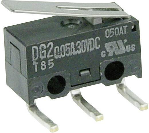 Mikrokapcsoló 30 V/DC 0,05 A 1 x BE/(BE) Cherry Switches DG23-B2LA nyomó 1 db