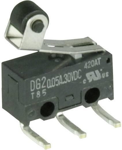 Mikrokapcsoló 30 V/DC 0,05 A 1 x BE/(BE) Cherry Switches DG23-B2RA nyomó 1 db