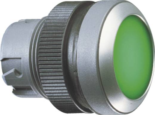 Nyomgomb, lapos működtető, zöld RAFI 1.30.240.121/0500 10 db
