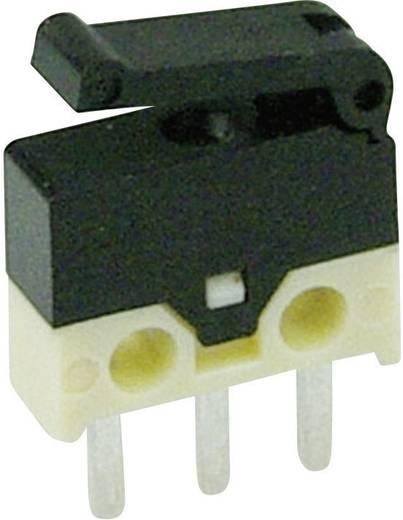 Mikrokapcsoló 30 V/DC 0,5 A 1 x BE/(BE) Cherry Switches DH2C-C4PA nyomó 1 db