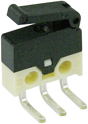Mikrokapcsoló 30 V/DC 0,5 A 1 x BE/(BE) Cherry Switches DH2C-C5PA nyomó 1 db