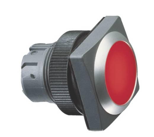 Nyomgomb, lapos működtető, piros (átlátszó) RAFI 1.30.240.071/1300 10 db