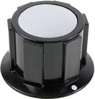 Cliff FC1616 Forgatógomb Fekete, Ezüst (Ø x Ma) 25.4 mm x 15.1 mm 1 db (FC1616) Cliff