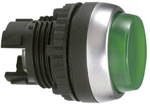Nyomógomb, krómozott elülső gyűrű, zöld BACO L21CK20 1 db