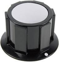 Cliff FC1622 Forgatógomb Fekete, Ezüst (Ø x Ma) 25.4 mm x 15.1 mm 1 db (FC1622) Cliff