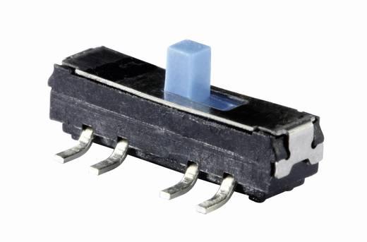 Knitter-Switch MMS 228 tolókapcsoló, 2xbe/be, 12V/DC 200mA