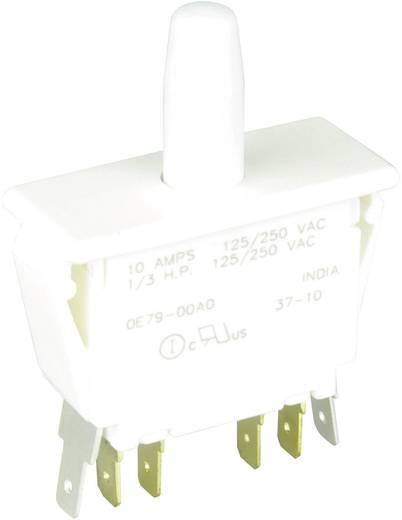 Nyomógomb 250 V/AC 10 A 2 x BE/(BE) Cherry Switches E79-00A nyomó 1 db