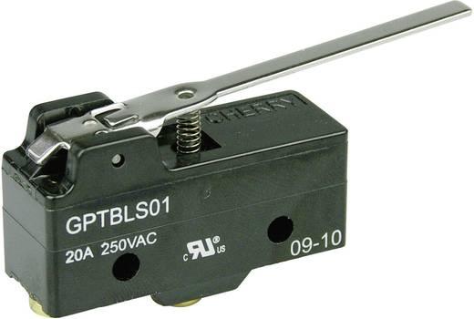 Mikrokapcsoló 250 V/AC 20 A 1 x BE/(BE) Cherry Switches GPTBLS01 nyomó 1 db