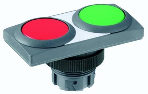 Kettős nyomókapcsoló, zöld/piros RAFI 1.30.241.052/2207 2 db
