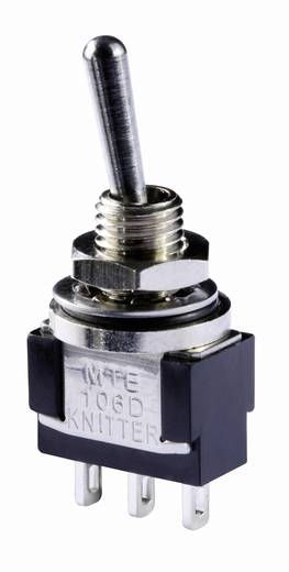 Karos billenőkapcsoló 250 V/AC 3 A 1 x BE/KI/BE Knitter-Switch MTE 106E IP67 reteszelő/0/reteszelő 1 db