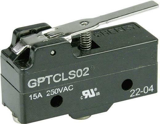 Mikrokapcsoló 250 V/AC 15 A 1 x BE/(BE) Cherry Switches GPTCLS02 nyomó 1 db