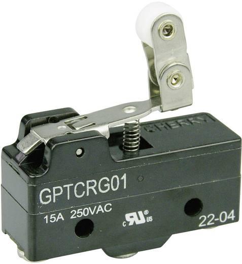 Mikrokapcsoló 250 V/AC 15 A 1 x BE/(BE) Cherry Switches GPTCRG01 nyomó 1 db