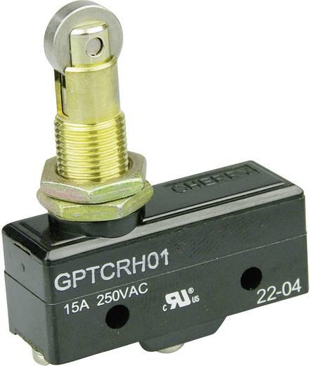Mikrokapcsoló 250 V/AC 15 A 1 x BE/(BE) Cherry Switches GPTCRH01 nyomó 1 db