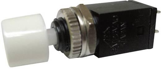 Nyomógomb 125 V/AC 3 A 1 x KI/(BE) Miyama DS-410 nyomó, fehér