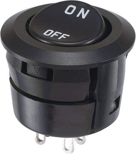 Billenőkapcsoló 250 V/AC 3 A 2 x KI/BE Miyama DS-059S-ON reteszelő 1 db