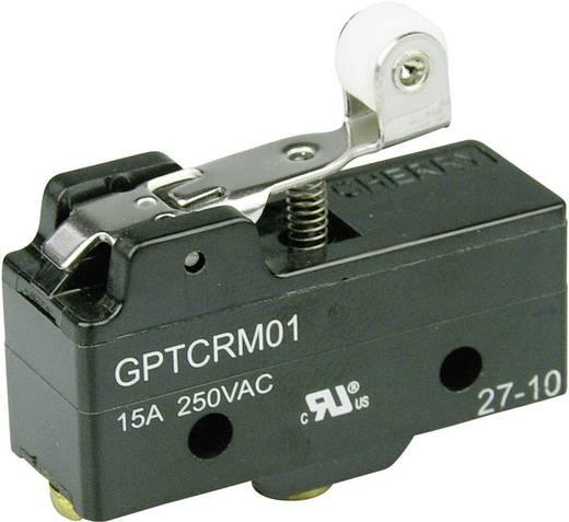 Mikrokapcsoló 250 V/AC 15 A 1 x BE/(BE) Cherry Switches GPTCRM01 nyomó 1 db
