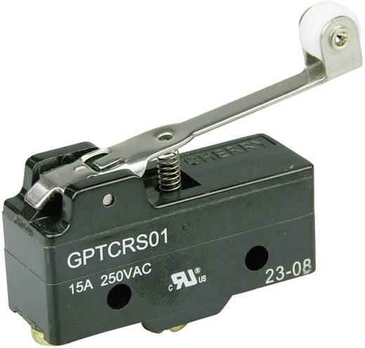 Mikrokapcsoló 250 V/AC 15 A 1 x BE/(BE) Cherry Switches GPTCRS01 nyomó 1 db