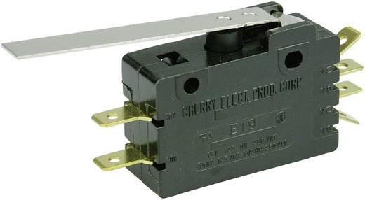 Mikrokapcsoló 250 V/AC 15 A 2 x BE/(BE) Cherry Switches E19-00H nyomó 1 db