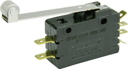 Mikrokapcsoló 250 V/AC 15 A 2 x BE/(BE) Cherry Switches E19-00K nyomó 1 db