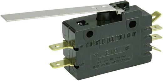Mikrokapcsoló 250 V/AC 15 A 2 x BE/(BE) Cherry Switches E19-50H nyomó 1 db