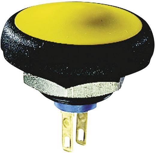 Nyomógomb 50 V/DC 0,1 A 1 x KI/(BE) APEM IFS3Z1AD100 IP67 nyomó 1 db