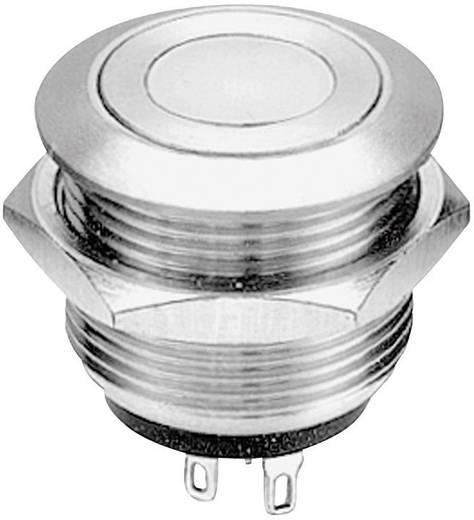 Vandálbiztos nyomógomb 24 V/AC 0,05 A 1 x BE/(BE) APEM AV09C7L3D2006 nyomó 1 db