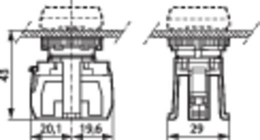 Érintkezőelem 1 záró nyomó 600 V BACO BA331E10 1 db