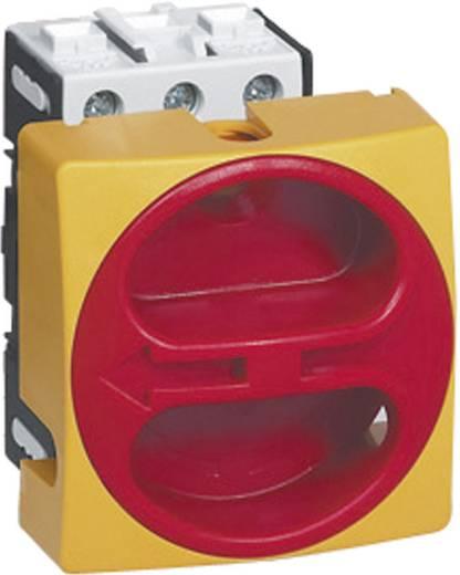 Terhelés leválasztó kapcsoló, 63 A 1 x 90 ° sárga, piros BACO 0172301 1 db