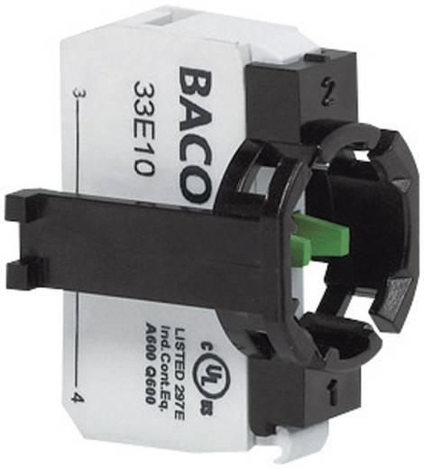 Érintkező elem 1 részes adapterrel, 600 V 10 A, nem világítható, BACO 331ER10