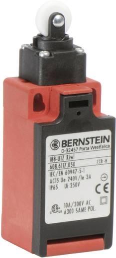 Pozíció kapcsoló, hosszú görgős, 240 V/AC, 10 A, 31 mm, 1 záró/1 nyitó, Bernstein I88-U1Z RIWL
