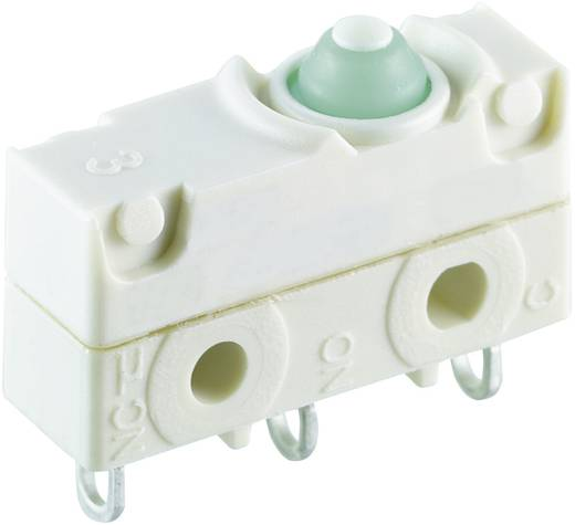 Mikrokapcsoló 250 V/AC 10 A 1 x BE/(BE) Marquardt 1045.0903 IP67 nyomó 1 db