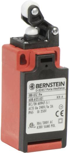 Pozíció kapcsoló, karos/görgős, 240 V/AC, 10 A, 31 mm, 1 záró/1 nyitó, Bernstein I88-SU1Z HW