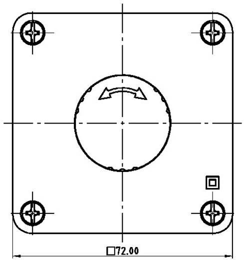 Vészkikapcsoló 250 V/AC 16 A 2 nitó Schlegel SIL22_QRUV_118308 IP65 1 db