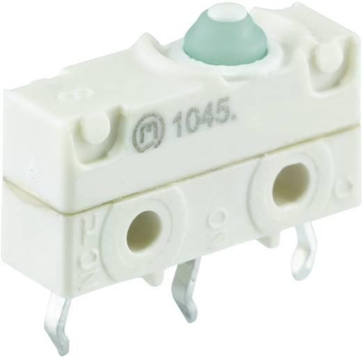 Mikrokapcsoló 250 V/AC 10 A 1 x BE/(BE) Marquardt 1045.2702 IP67 nyomó 1 db