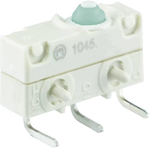 Mikrokapcsoló 250 V/AC 10 A 1 x BE/(BE) Marquardt 1045.3102 IP67 nyomó 1 db