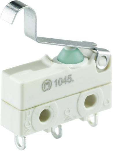 Mikrokapcsoló 250 V/AC 10 A 1 x BE/(BE) Marquardt 1045.5502 IP67 nyomó 1 db