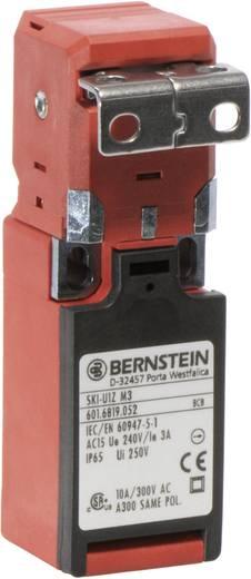 Biztonsági kapcsoló osztott működtetővel, fém, hajlított, 240 V/AC, 10 A, 1 záró/1 nyitó, Bernstein SKI-U1Z M3
