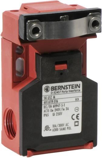 Biztonsági kapcsoló osztott működtetővel, fém, lapos, 240 V/AC, 10 A, 1 záró/1 nyitó, Bernstein SK-U1Z M