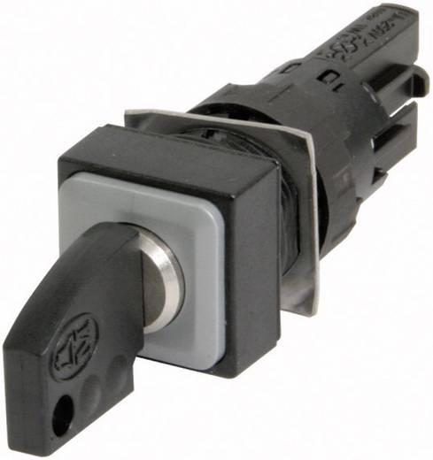 Kulcsoskapcsoló elcsavarodás elleni védelemmel fekete 2 x 45 ° Eaton Q18S3 1 db
